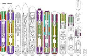 Carnival Splendor Panorama Deck Plan by Carnival Cruise Glory Deck Plan Wallpaper Punchaos Com