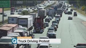 Truckers Protest New Electronic Logbook Requirements With 'Rolling ... How To Become A Ups Driver To Work For Brown Truck Driving Academy Catalog Truckers Protest New Electronic Logbook Requirements With Rolling Tuition And Eld Device Compliance Ipections Regulations Truckstopcom Owner Operator Auroraco Dtsinc 72 Best Safe Driving Tips Images On Pinterest Semi Trucks Jobs Vs Uber The 8 Best Gps Updated 2018 Bestazy Reviews Euro Simulator 2 Download Free Version Game Setup