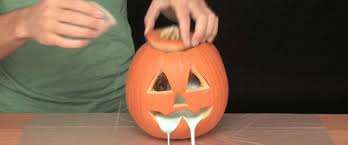 Sick Pumpkin Carving Ideas by Oozing Pumpkin Sick Science Science Experiments Steve