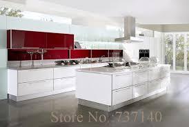 achat chinois cuisine blanc laque armoires de cuisine foshan meubles usine de haute