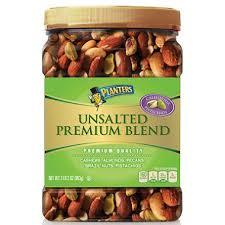 Planters Unsalted Premium Blend 34 5 oz Sam s Club
