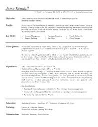 Customer Service Representative Resume Job Description With Regard To Sample Objective Examples For Highschool Students