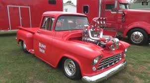 1956 Chevy Truck With A Twin-Supercharged V8 – Engine Swap Depot Oil Slick Teaser 1956 Slammed Chevy Pickup Shop Truck Patina Hot Chevrolet Stretched Truckin Magazine 1957 Grill Awesome 3800 Dually 1 Ton Cameo Pro Touring Resto Mod Bagged Air Ride Custom S Auto Body Of Clarence Inc Classic Best Of 36th Annual Daytona Turkey Run With An Ls2 Youtube Automotive News 56 Gets New Lease On Life Sold Stepside New Build Ca For Sale Craigslist And Van