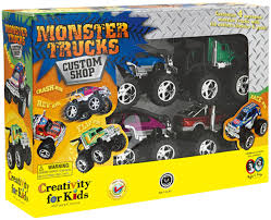 Fair Grave Digger Monster Truck Toys Feature Toys Burger King ...
