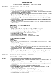 Healthcare Data Analyst Resume Samples | Velvet Jobs Entry Level Data Analyst Cover Letter Professional Stastical Resume 2019 Guide Examples Novorsum Financial Admirably 29 Last Eyegrabbing Rumes Samples Livecareer 18 Impressive Business Sample Quality Best Valid Awesome Scientist Doc New 46 Fresh Scientist Resume Include Everything About Your Education Skill Big Velvet Jobs