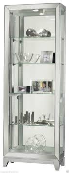 howard miller 680 590 shayne silver contemporary lighted curio