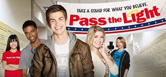 Pass The Light follows a high school student who runs for Congress because he is disturbed by the message of hatred and intolerance espoused by a popular