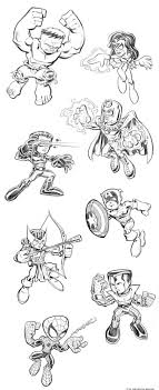 Printable Lego Superheroes The Avengers Coloring PagesFree
