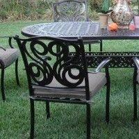 Cast Aluminum Patio Sets by Elegant Classy Cast Aluminum Outdoor Furniture Turin Elliptical