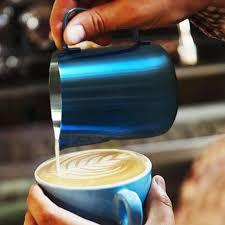 Pitcher Stainless Steel Coffee Barista Gear 350ml 600ml Latte Art