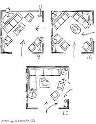 Rectangle Living Room Layout With Fireplace by It U0027s Easy To Arrange Furniture In A Square Living Room Some Ideas