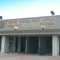 United States Post fice Orlando International Airport