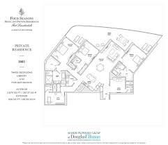 100 Four Seasons Miami Gym Private Residences Fort Lauderdale Floor Plans