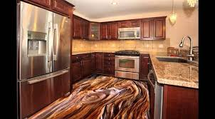 3d Kitchen Floor Murals With Epoxy Coating Should We Install 3D Art Flooring Paint In Our Kitchens Read This Article And See The