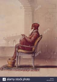 English: A Portrait Of Ranjit Singh, Maharaja Of The Punjab ...