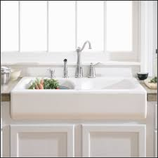 Kitchen Sinks With Drainboard Built In by Kitchen Interesting Kitchen Sink Design With Cool Top Mount