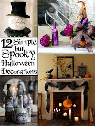 Halloween Pennant Mantel Scarf by 12 Simple But Spooky Halloween Decorations The Scrap Shoppe