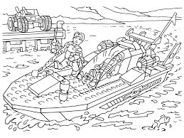Boat Lego Coloring Pages