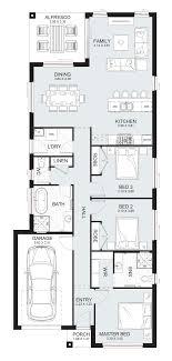 100 Narrow Lot Homes Sydney New Home Builders Jasmine 17 Single Storey Home Designs