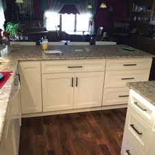 Premier Cabinet Refacing Tampa by Dura Supreme Door Style Dalton Maple Countertop Viatera