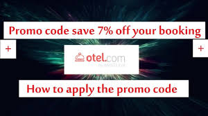 Otel Promo Code Save 7% On Your Booking