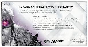 Magic The Gathering Deck Builder Toolkit 2017 by Magic The Gathering 2015 Core Set Deck Builder U0027s Toolkit Box Da