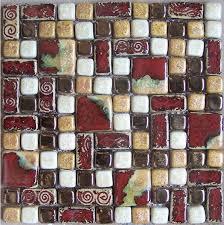 glass mosaic tile crafts craft ceramic mosaic kitchen wall