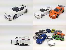 Hot Wheels Toyota Supra Fast and Furious 7 ver by black rock