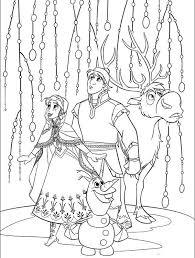 113 Best Disneys Frozen Coloring Sheets Images On Pinterest