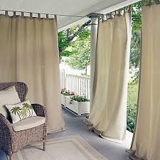 Bed Bath And Beyond Curtains And Drapes by Outdoor Curtains U0026 Screens Outdoor Curtain Panels Bed Bath U0026 Beyond