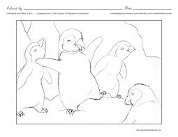 Coloring Printable Antarctica Pages
