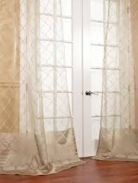 Searsca Sheer Curtains by Palazzo Honeycomb Latte Patterned Sheer Master Bedroom