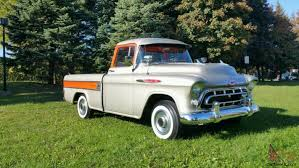 Chevrolet: Other Pickups 3124 CHEVROLET CAMEO 1957 Chevrolet Cameo Carrier 3124 Halfton Pickup Chevrolet Cameo Streetside Classics The Nations Trusted 1955 Pickup Truck Stock Photo 20937775 Alamy Rare And Original Carrier Pickup Sells For 1400 At Lambrecht Che 1956 3100 Volo Auto Museum 12 Ton Chevy Cameo Gmc Trucks Antique Automobile Club Of Sale 2013036 Hemmings Motor News On The Road Classic Rollections 1958 Start Run External Youtube Chevy Forgotten Truckin Magazine