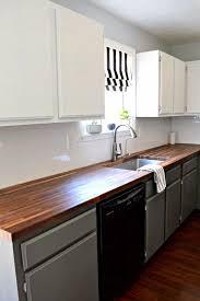 diy küchen makeover ideen lackieren sie schränke ohne
