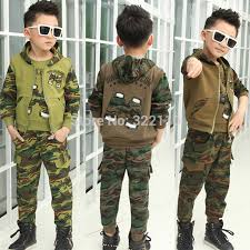 Baby Boys Autumn Clothing Sets Camouflage Sport Suits Kids Suit Clothes Children In From Mother On Aliexpress