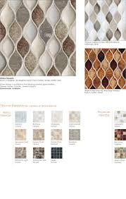 Glazzio Tiles Versailles Series by Encore Tile Grace The Collection Wave Piedra Encore Ceramics