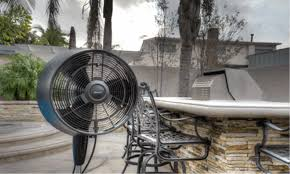 Portable Patio Misting Fans by Newair Af 520b 18 Inch Outdoor Misting Fan