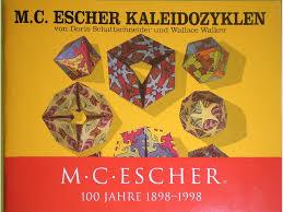 M C Escher Kaleidozyklen Doris Schattschneider And Wallace Walker 9783892680130 Amazon Books
