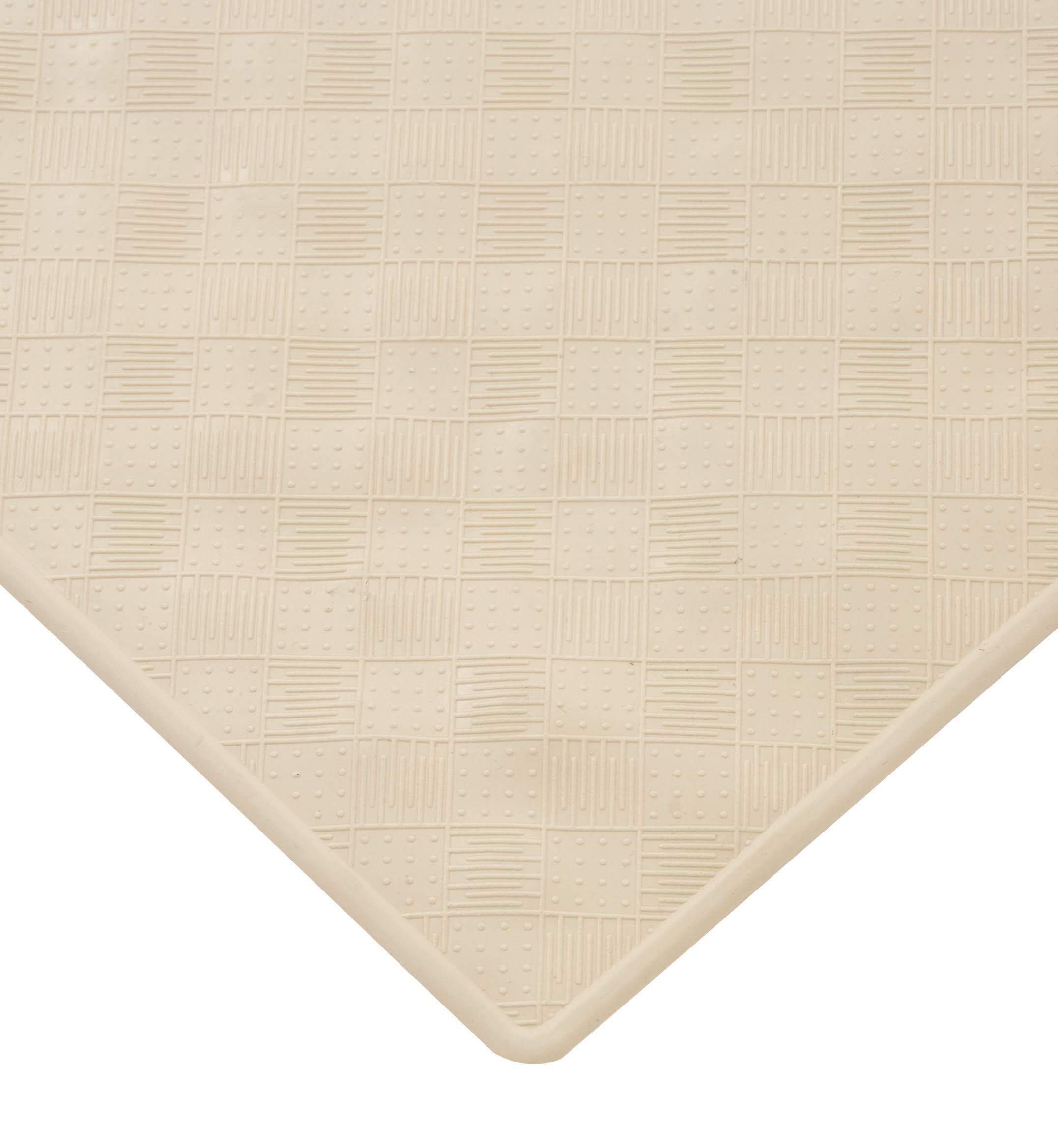 Kenney Rubber Bath Mat Cream