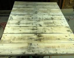 how to make a coffee table out of a wooden pallet easy low cost