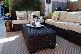 Allen Roth Patio Furniture Cushions by Outdoor Living Made Easy With A Lowe U0027s Backyard Makeover