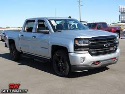 2017 Chevy Silverado 1500 LTZ 4X4 Truck For Sale In Ada OK - HG394955