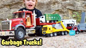 Garbage Truck Videos For Children L