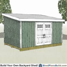 12x16 Gambrel Shed Kits by 12x16 Shed Plans Build A Backyard Shed