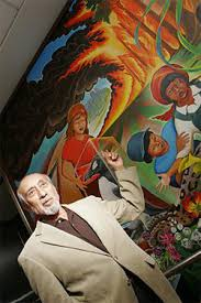Denver Airport Murals Conspiracy Debunked by Denver Airport Allows Camera Crew In Underground Facility