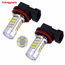 80w 1200 lumens 6000k yx 2835 chipsets h11 led bulbs with