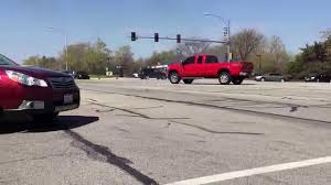 100 Truck Crashes Video Turbo Diesel Into Curb After Failed Burnout In The