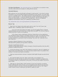Additional Information On Resume Examples Summary Draft Sample Fresh Skills