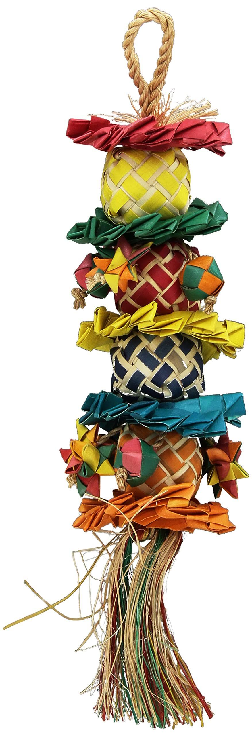 Planet Pleasures Flower Tower Bird Toy - Small