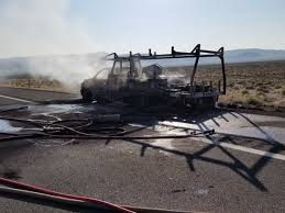 100 Game Warden Truck I80 Near Fernley Open After Truck Fire Stops Traffic